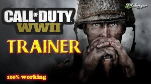 CALL OF DUTY WWII PC Game 100% Working Trainer Free Download